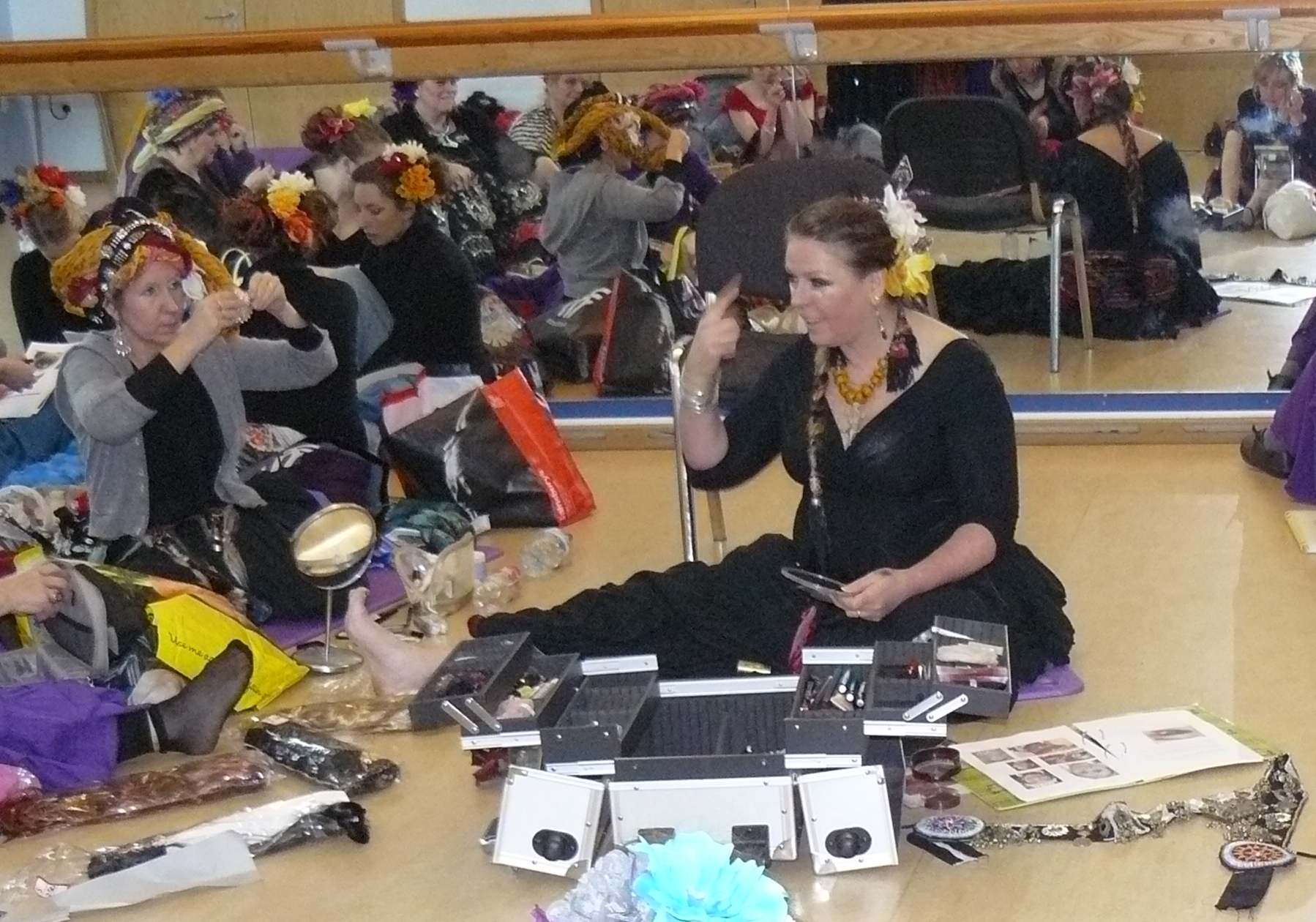 Tribal Hair & Make-up workshop