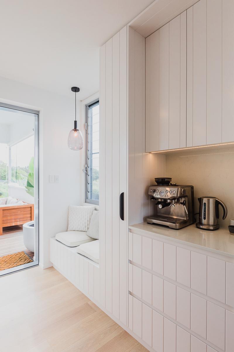 kitchen nook | Belongil House Byron Bay | Interior Design