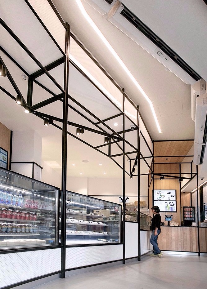 Sushi kenzen hospitality fit out brisbane