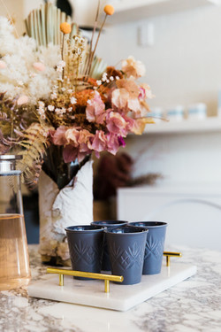 Skin Divinity cosmetic clinic byron bay| whitewood agency | Interior Design | floral arrangement