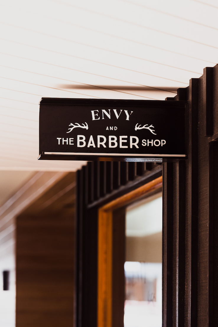 Feros Arcade Byron Bay | Envy and The Barber Shop | Commercial Design | whitewood agency | Interior