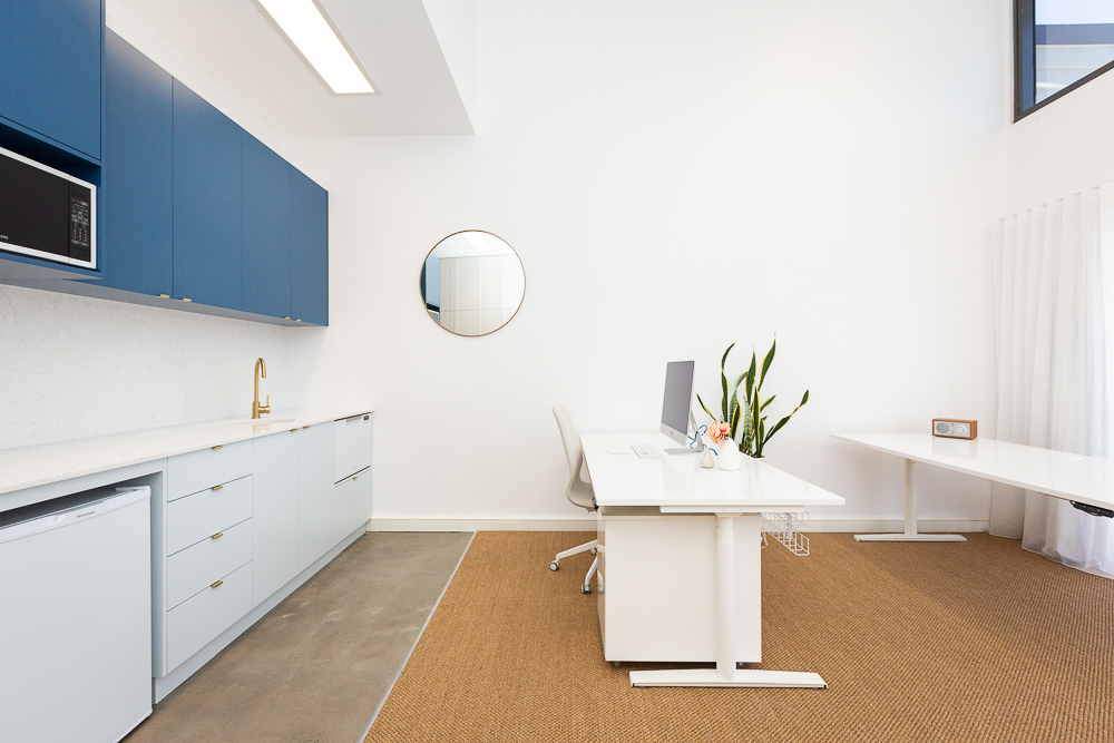 Kitchen | Jones Accountants Lennox Head | Office | Interior Design | whitewood agency