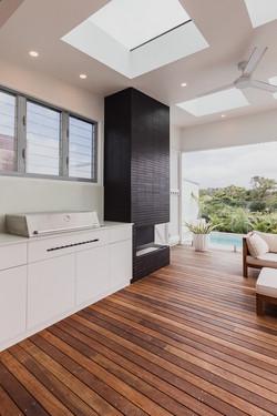 BBQ | Belongil House Byron Bay | Interior Design