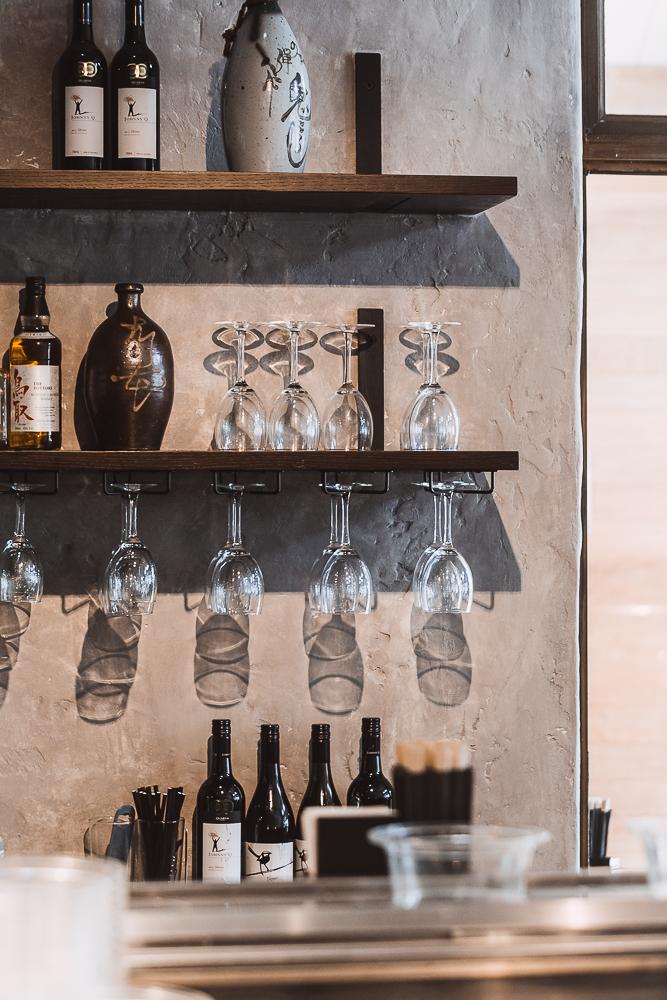 Shelving | Kinoko | Sushi Bar and restaurant | Byron Bay | whitewood agency | interior design
