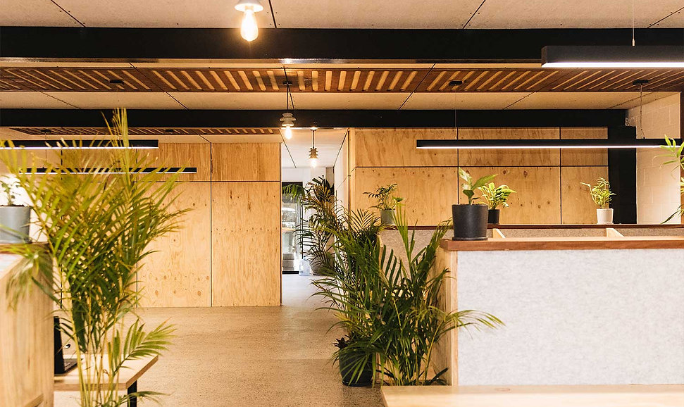 Smart energy call centre fit out byron bay