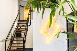 Smart energy office fit out byron bay foyer