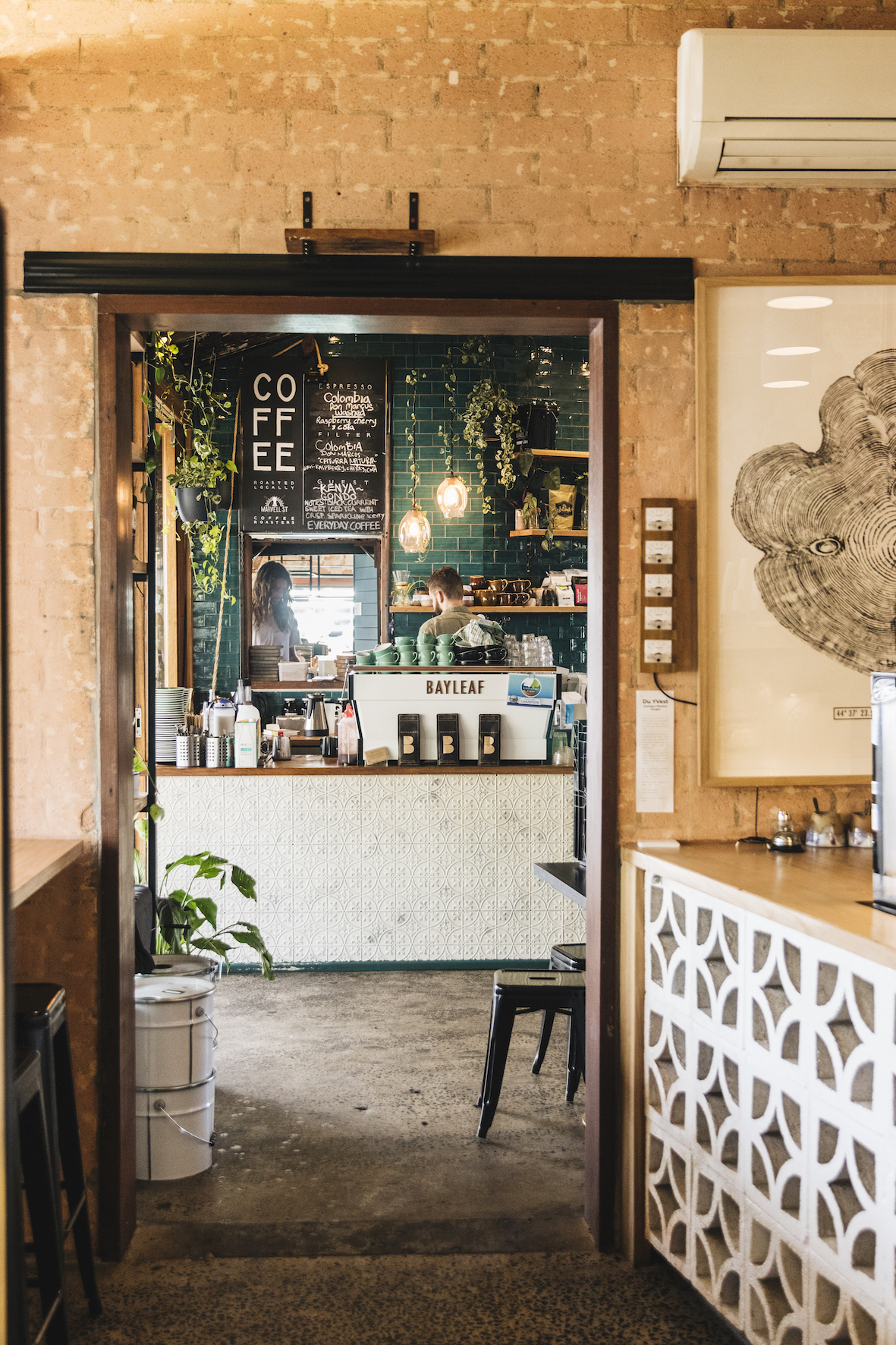 Bay leaf cafe hospitality fit out byron bay
