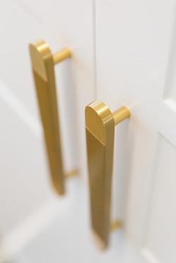 Brass Door handles  | Jones Accountants Lennox Head | Office | Interior Design | whitewood agency