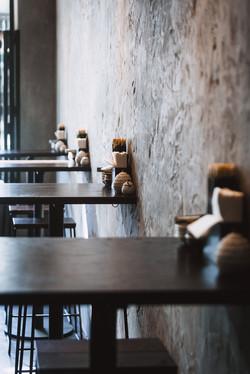Kinoko   Sushi Bar and restaurant   Byron Bay   whitewood agency   interior design