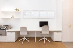 Work area | Jones Accountants Lennox Head | Office | Interior Design | whitewood agency