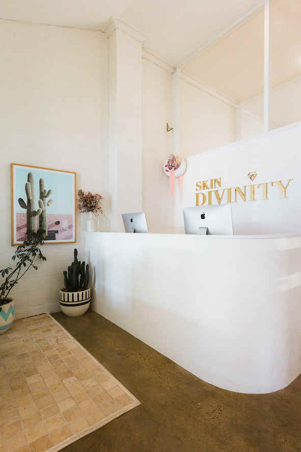 Skin Divinity | Byron Bay | whitewood agency | Commercial Interior Design