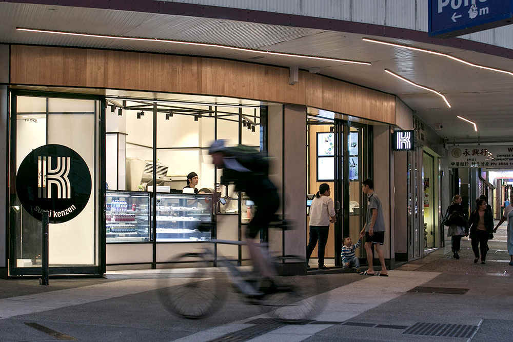 Sushi Kenzen Brisbane | whitewood agency | Commercial Interior Design Byron Bay