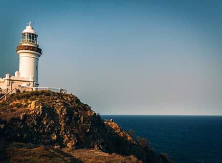 What defines the Byron Bay aesthetic?