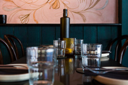 Table setting | Supernatural Restaurant | whitewood agency | byron bay bar | bar design
