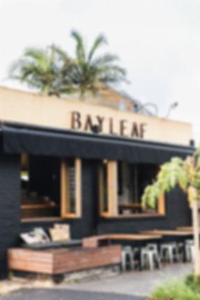 Bay leaf cafe hospitality fit out byon bay