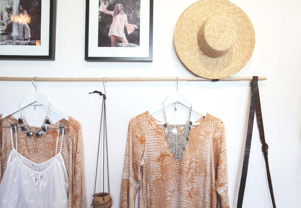 Dreamers & Drifters retail boutique retail fit interior design byron bay