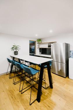 Ballina Insurance | workplace kitchen | whitewood agency | Interior Design