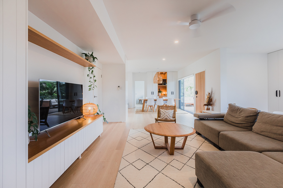 living room | Belongil House Byron Bay | Interior Design