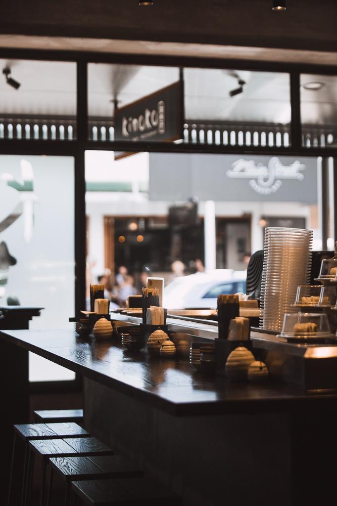 Kinoko | Sushi Bar and restaurant | Byron Bay | whitewood agency | interior design
