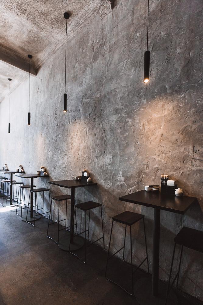 Seating | Kinoko | Sushi Bar and restaurant | Byron Bay | whitewood agency | interior design