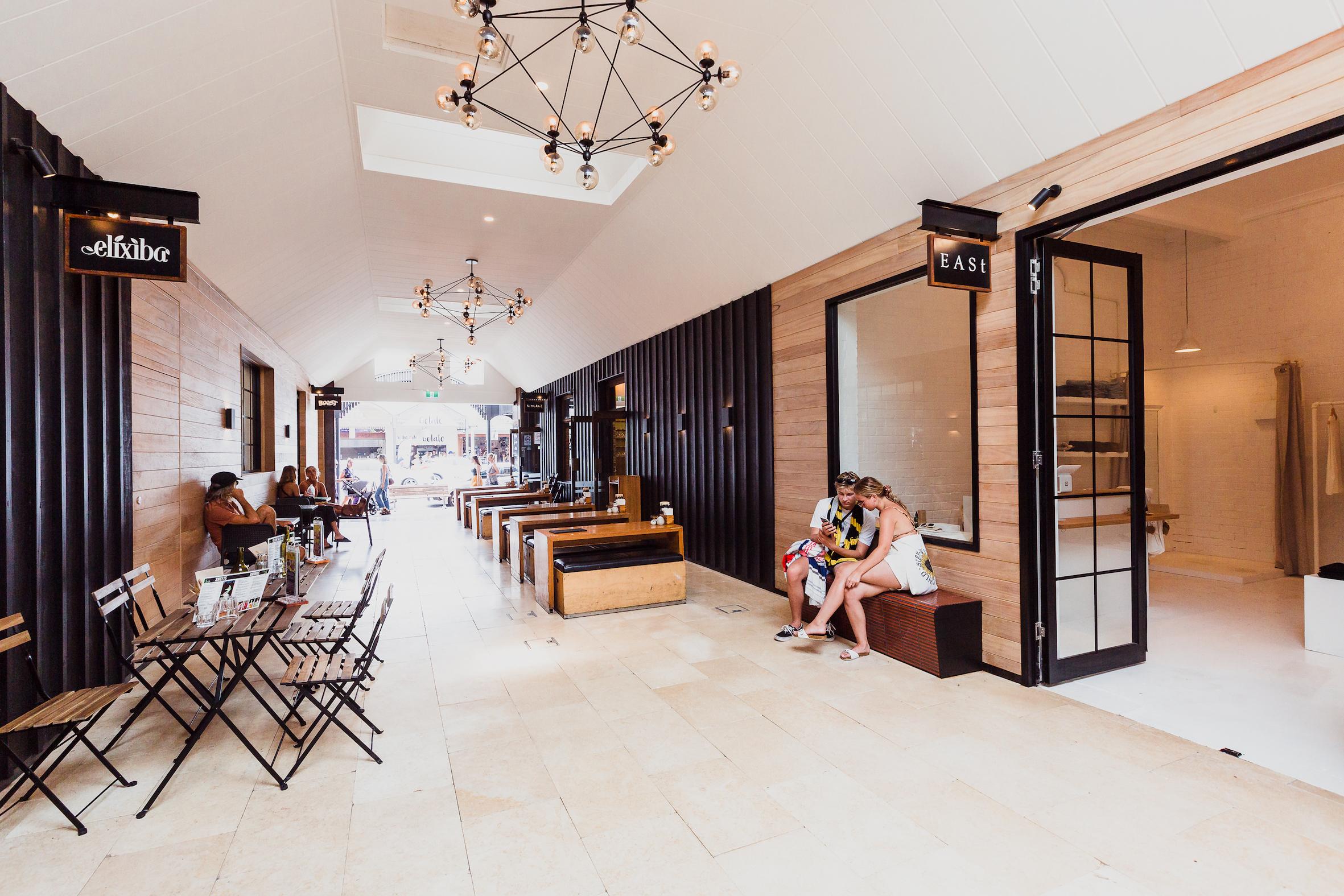 Feros Arcade Byron Bay | Commercial Design | whitewood agency | Interior Design