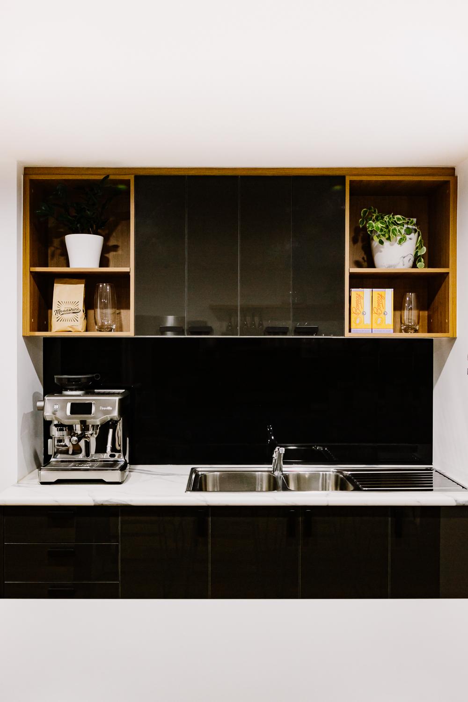 Ballina Insurance | workplace kitchen nook | whitewood agency | Interior Design