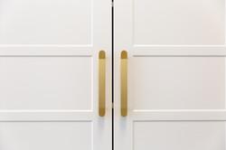 Brass door handle details | Jones Accountants Lennox Head | Office | Interior Design | whitewood age