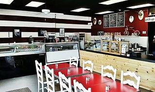 Ice Cream Shop Interior