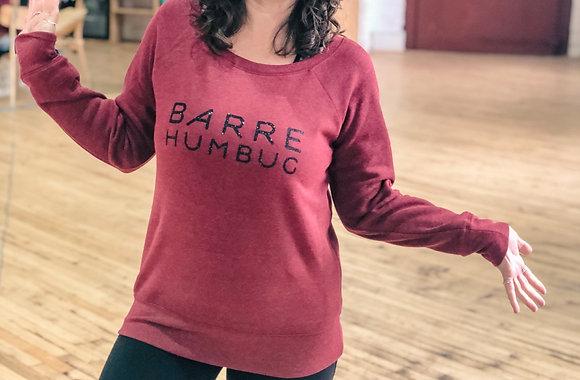 Barre Humbug Christmas Sweatshirt