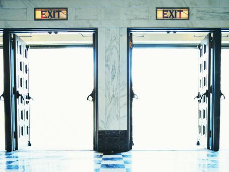 Where is the Exit Door?