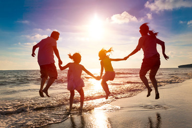 Family of 4 with Sunset.jpg