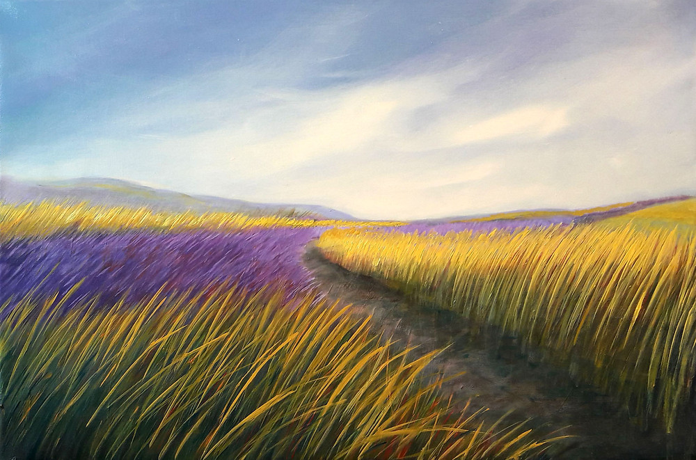 "Make A Memory, oil/canvas, 40x60cm/16''x24"""