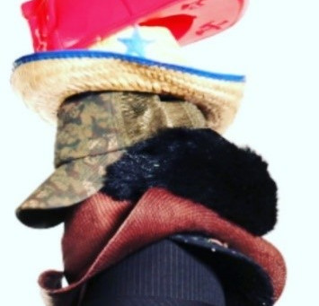 Whose hat are you wearing?