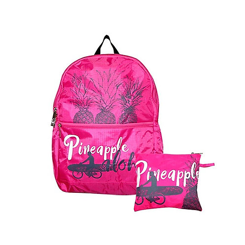 Pink Pineapple Backpack