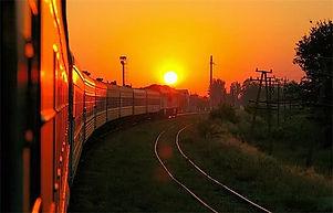 Добраться поездом