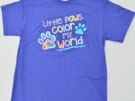 Little Paws Color My World T-Shirt
