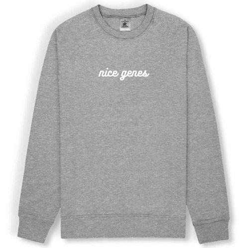 nice genes sweatshirt