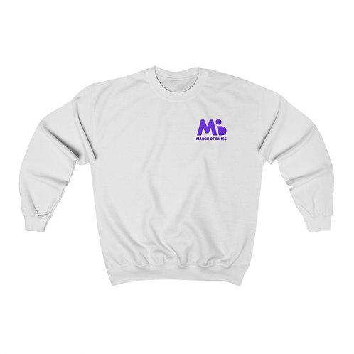 March of Dimes sweatshirt