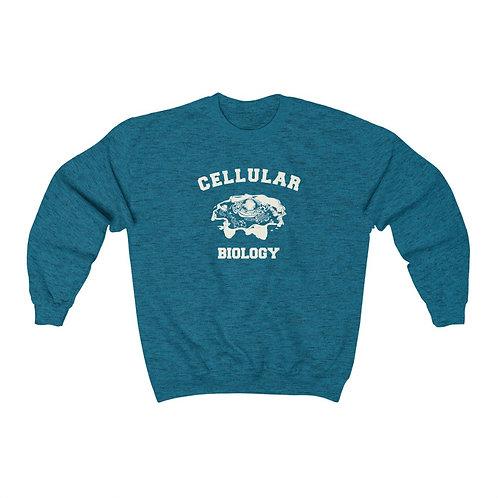 cellular biology sweatshirt