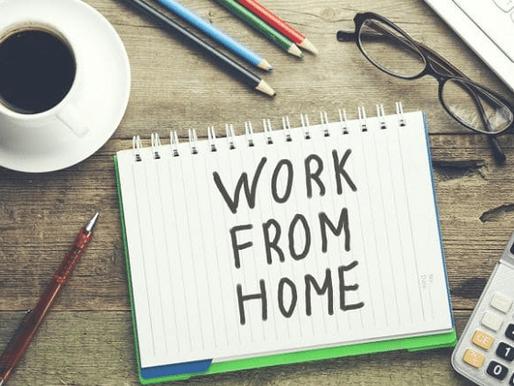 Πώς να παραμείνετε παραγωγικοί όταν εργάζεστε από το σπίτι