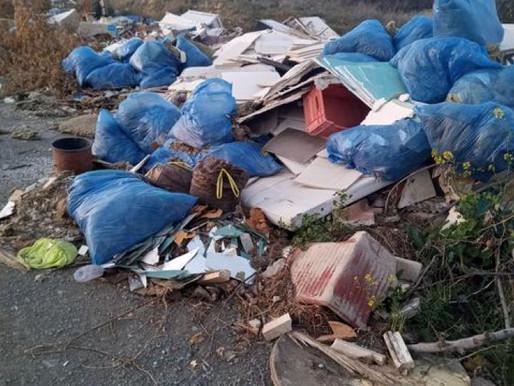 Παράνομοι σκουπιδότοποι σε όλη την Κύπρο