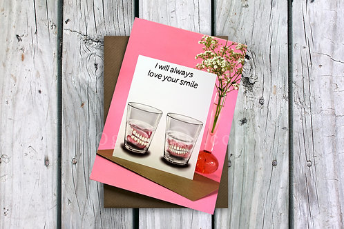 Love your smile Greeting Card