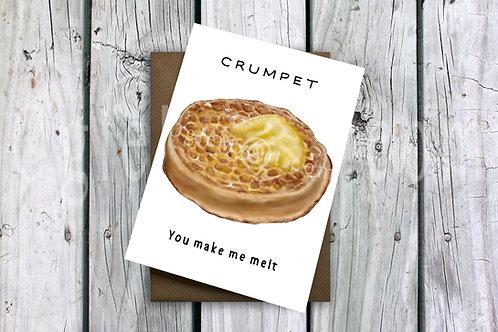 Crumpet Greeting Card
