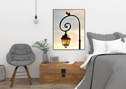Mock up Dove and Lamp