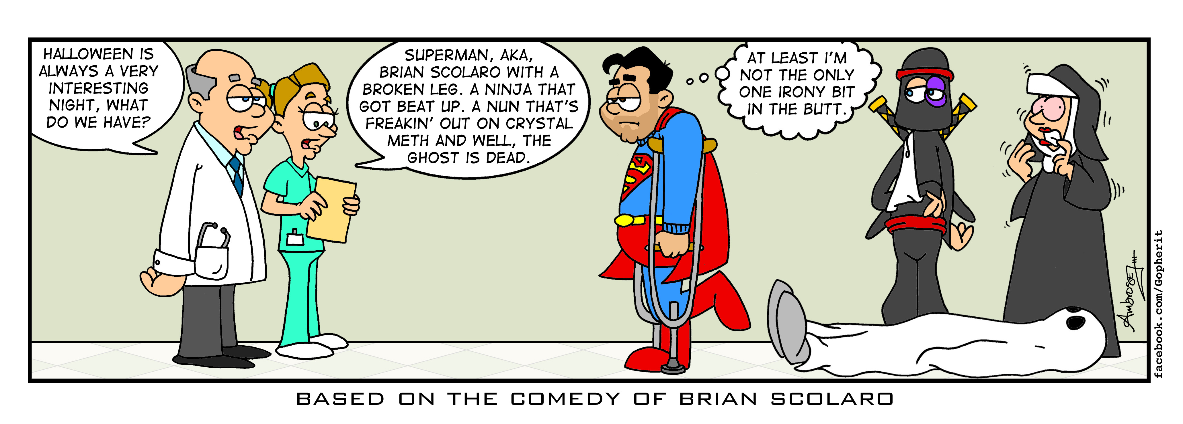 Brian Scolaro Comic Strip