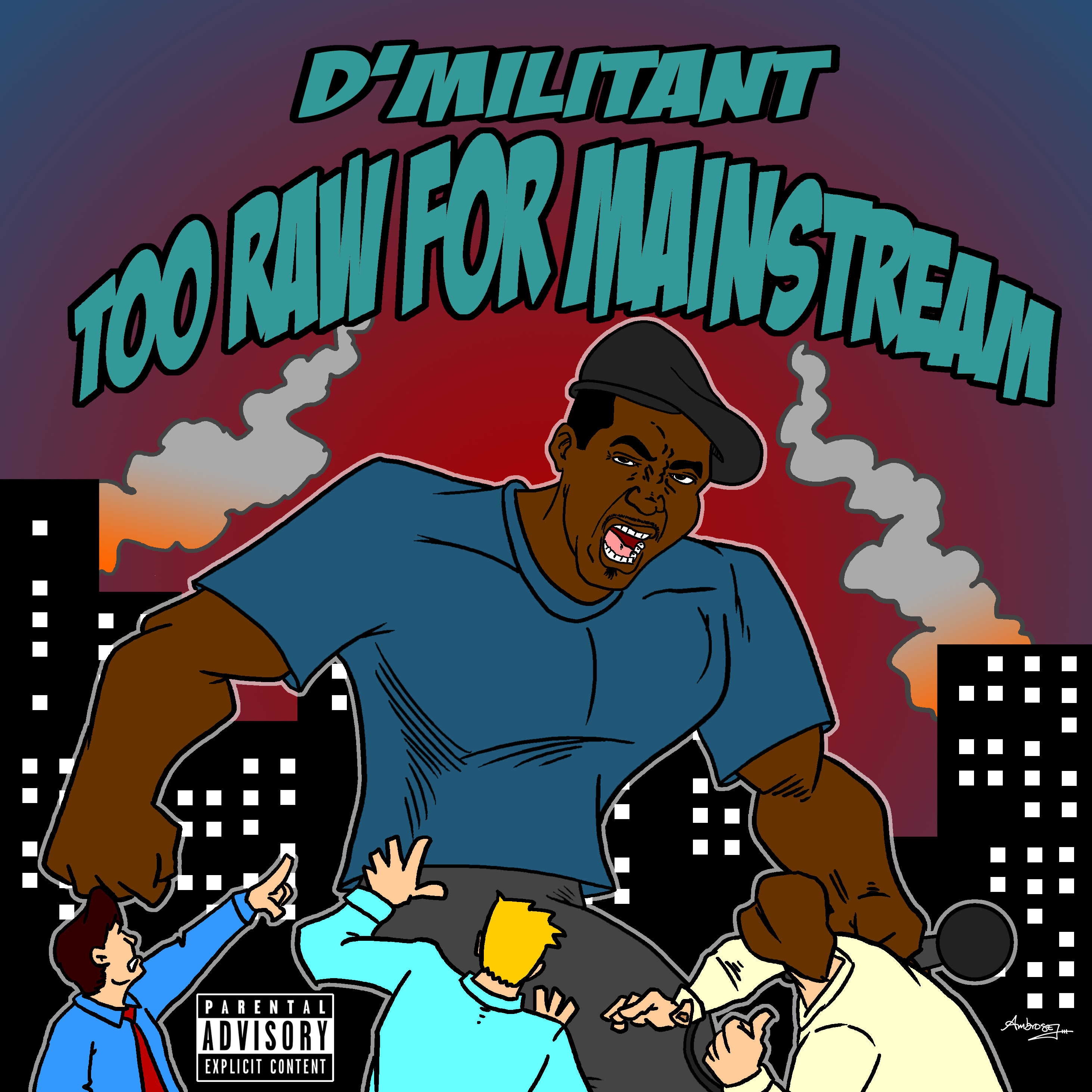D'Militant CD Cover