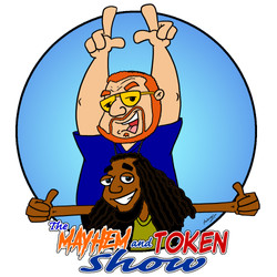 The Mayhem & Token Show Logo