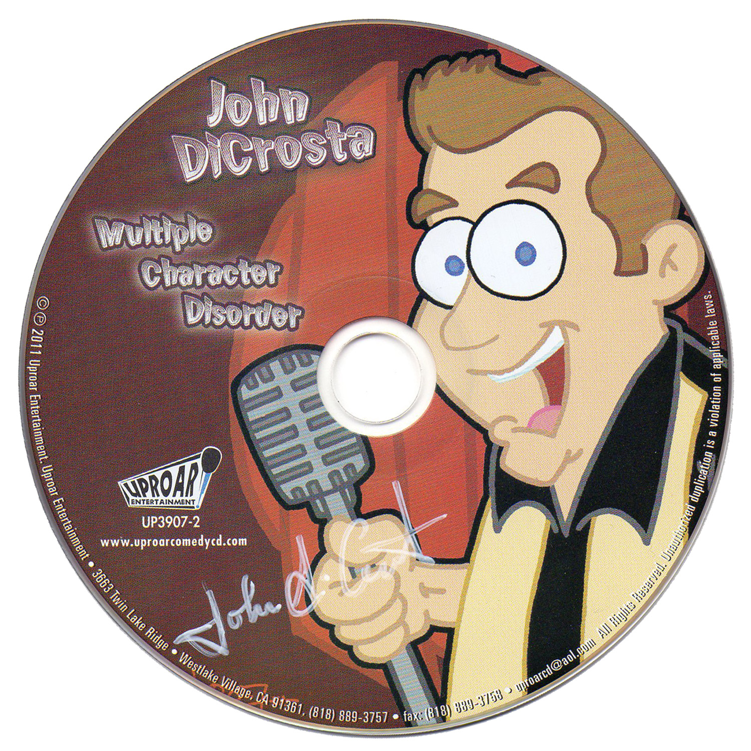 John DiCrosta CD Cover