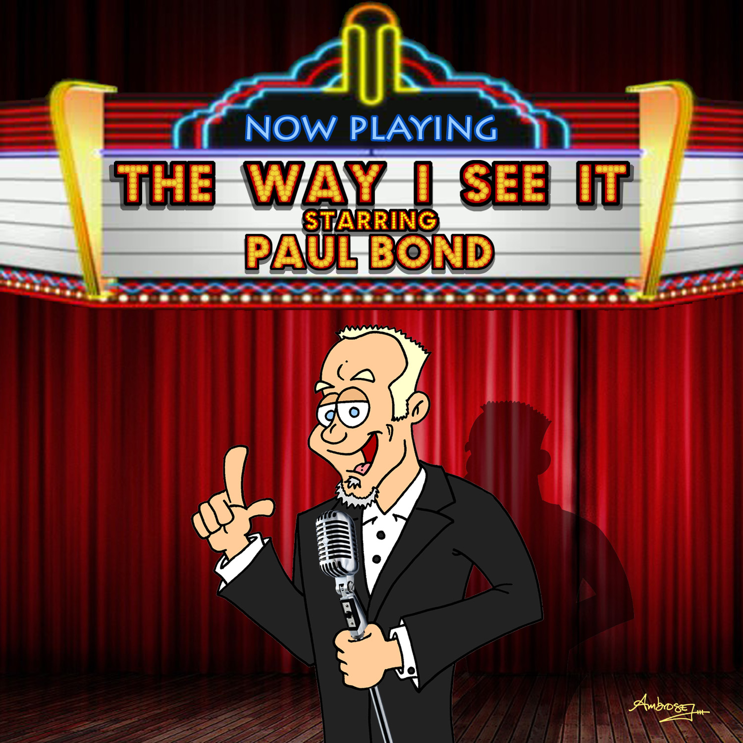 Paul Bond CD Cover