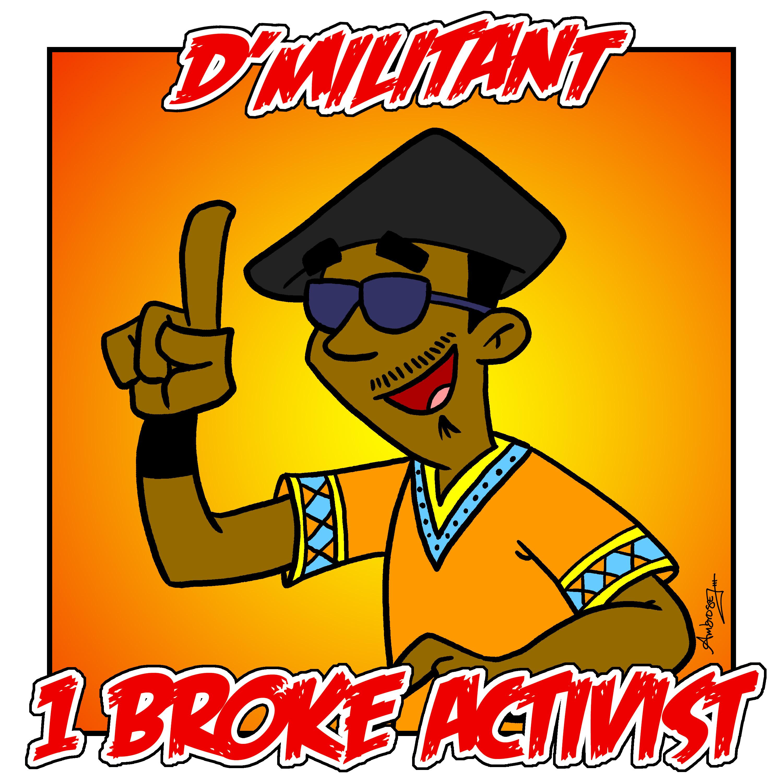 1 Broke Activist Logo